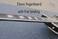 Wholesale Guitar Ebony Fret Binding - Ebony fingerboard,fret binding,must order it together with guitar