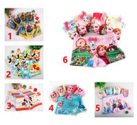 Wholesale Underwear Kids Girl - 5pcs lot Minnie Mouse Anna Elsa cartoon children Frozen boxer underwear girl cotton pants for kids boys underpants