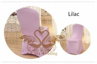 Wholesale Cheap Spandex Chair Covers Wholesale - Cheap Price Lilac Color Lycra Lycra Spandex Chair Cover Used For Hotel Wedding
