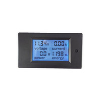 Wholesale LCD display DC multifunction meter Wh kWh ampere voltage power Energy meter DC multifunction panel meter