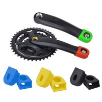 Wholesale Crank Arms - Wholesale-Crankset Mountainbike Bicycle Protective Bash Boots For Alloy Crank Arm New arrivalnew brand