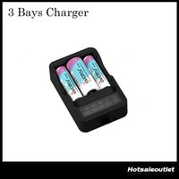 Wholesale Rechargeable Intelligent - Authentic Avatar 3 Bays Intelligent Charger Compatible with All Rechargeable Batteries on the Market 100% Original