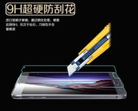 Wholesale Galaxy S4 Hard - 2.5D Arc Edge 9H Hard High 0.33mm Premium Tempered Glass film for Samsung Galaxy Note4 5.7 inches Transparent Screen Protector