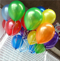 Wholesale 300 g Balloon Ball Colorful Pearl Latex Balloons For Wedding Birthday Party Decoration