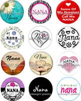 Wholesale Nana Free - Free shipping NANA Snap button Jewelry Charm Popper for Snap Jewelry good quality 12pcs   lot Gl213 jewelry making