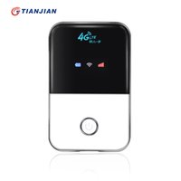 Wholesale 4g Modem Wifi - 2018 Brand new hot sale 4G TDD FDD Wifi Router 100Mbps Mini Mobile Hotspot Portable Wireless Modem