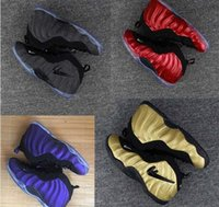 2017 Free Shipping Wholesale Running Shoes Men Foamposite One High Sneakers  Boots Hot Sale Outdoor Sports Trainers Shoes Size 40 46 Price