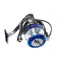 Wholesale Daiwa Fishing Spinning Wheels - Size 7000 Blue Color Spinning Fishing Reel Appearance Like Daiwa Fishing Reel Sea Fishing Big Wheel Fishing Gear Free Shipping