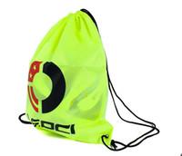 Wholesale Thermal Backpacks - LEOCI smooth smoke strand vest pocket bags basketball football receive bag thermal transfer backpack bags wholesale free shipping