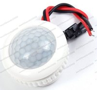 Wholesale Off Infrared Body Sensor - NEW Smart PIR Sensor Switch 220V 50HZ Infrared Human Body Induction Light Control Motion Detector Ceiling LED Lamp Bulb Auto On Off MYY
