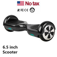Wholesale Mini Black Board - LED Scooters Skateboard Electric Mini Self Balancing Wheel Hover Board Smart Balance Scooter 6.5 inch Two Wheels USA Stock Drop Shipping