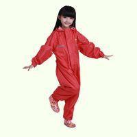 Wholesale Rain Ponchos For Kids - Winter Raincoat Sets For Children Kids One Piece Rainsuit Boys Girls Waterproof Rain Poncho Coat Pants Capa De Chuva Child Chubasquero Mujer