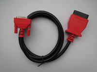 Wholesale vw engine repair - 100% Original AUTEL J2534 908PRO OBDII Main Cable Test Cable Maxidas MS 908 PRO OBD 2 Cables