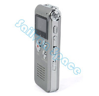 Wholesale Audio Recorder Player - Wholesale-High Quality Multifunctional Rechargeable 8GB 650HR Digital Audio Voice Recorder Dictaphone MP3 Player FM #11 4878