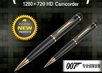 Wholesale Good Spy Cameras - Good quality Full HD 1080P Camera Corn Pen Security Hidden Spy Surveillance Camera Camcorder DVR DV USB Fash Drive PC webcam