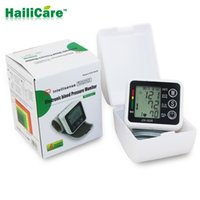: pulse scanning / oscilloscope assay blood pressure automatic - Health Care Automatic Digital Wrist Blood Pressure Monitor Meter Cuff Blood Pressure Measurement Health Monitor Sphygmomanometer