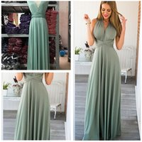 Wholesale Silk Maxi Evening Dress - 2016 Top Sale Deep V-neck Open Back Evening Maxi Elegant Evening Party Dresses Pageant Gowns Open Back Long Satin Pageant Gowns Customer