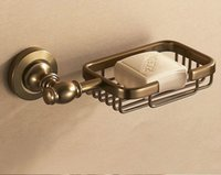 Wholesale Bathroom Series - Antique Aluminum Soap Blasket Soap Dish Holder Bathroom Hardware Series