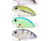 Wholesale Pike Floats - Hard Baits Crank Pike Bass Fishing 6.3cm Floating Hard Fishing Lure with #6 premium treble VMC Hook