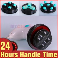 Wholesale Infrared Vibration Massager - Infrared Vibration Full Body Massager Cellulite Removal Slimming Home Use Device with 4 Designed Massage Probes