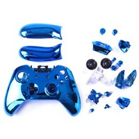 Chrom Custom Replacement Controller Shell Case Cover Kit für Xbox One Controller SCHNELLES VERSCHIFFEN
