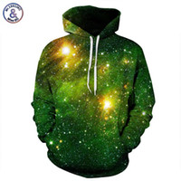 Wholesale Red Star Hoody - Hip Hop Space Galaxy 3d Sweatshirts Men Women Hoodies With Hat Print Stars Nebula Autumn Winter Loose Thin Hooded Hoody Tops