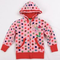 Wholesale Teenage Suits For Boys - Wholesale- pink kids hoodies children wear jacket zipper new year Sweatshirts for teenage girls baby hoodies sports suits cotton clothing