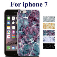 Wholesale Cover For Inches Phone - High Quality TPU Marble Skin Back For iphone 7 Cover Case Protector Mobile Phone Shell For iphone 5S 6 4.7 Plus 5.5 inch SCA212
