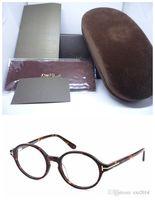 Wholesale prescription polarized lenses - New TF C5049 Retro-vintage round sunglasses frame prescription glasses pure-plank with original packing accustomized sunglasscheapest price