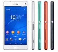 "Wholesale Camera Xperia - Original Sony Xperia Z3 Compact Mobile Phone Quad core 4.6 ""16GB ROM 20.7MP D5803 Z3 mini Cell phone"