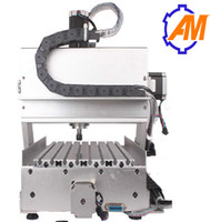 Wholesale Engraving Metal Cnc - Brand new free shipping AM6090 2.2KW 4 axis 3d cnc engraving machine wood metal high precision engraver