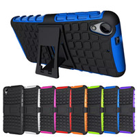 TPU spider cases - For HTC Desire Spider Hybrid Hard Robot Phone Back Case Cover with Kickstand Stand