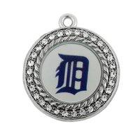 Wholesale Enamel Tiger - Detroit Tiger baseball team enamel charms