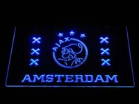 Wholesale Alcohol Signs - a232 Ajax amsterdam LED Neon Sign sign cut signs alcohol sign light