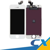 Wholesale Digitizer Iphone 5g - Tested Grade AAA Repair LCD For iPhone 5 5S 5G Lcd Display Replacement Touch Screen Digitizer Sensor Panel Assembly Free Shipping