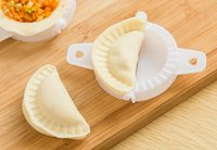 Atacado- ETYA 3PCS / Set DIY Plastic Dough Press Pack Torta de bolinho de massa Ravioli Mold Mold Maker Machine Pastry Home Kitchen Ferramentas de culinária