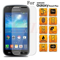 Wholesale Galaxy 7562 - Premium Tempered Glass Screen Protector For Samsung Galaxy S7562 7562 7582 Toughened Protective Film With Retail Packag
