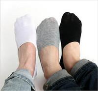 erkekler sığ ağız çorabı toptan satış-Toptan-Erkek Loafer Çorap 10Pairs Moda Casual Pamuklu Çorap Klasik Erkek Kısa Görünmez Terlik Sığ Ağız No Show Çorap w017