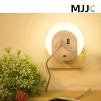 Wholesale Waterproof Sensor Switch - LED Night Light Sensor and Dual USB Wall Plate Charger with Dusk to Dawn Best Night Lights Waterproof for Kids Indoor Lighting
