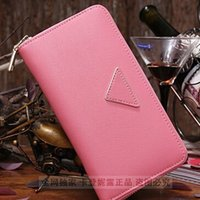 Wholesale Portefeuille Femme Fashion - New 2016 Luxury Brand Women Wallets,Fashion Portefeuille Femme Long Carteras Mujer Famous L Brand Carteira Leather Purse L2