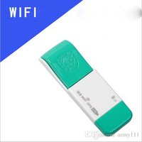 Wholesale Network Disk - Wholesale Newest U Disk OTG Combo Card 150Mbps WIFI Receiver 2.4Ghz Wireless Network Card WIFI Adapter Portable