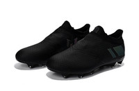 Wholesale shoes soccer for messi online - 2017 Messi Pureagility FG AG Football Shoes Men Soccer Cleats Best Quality For Sale Men s Soccer Shoes Cheap Sports Shoes