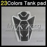 Wholesale n 3d - 23Colors 3D Carbon Fiber Gas Tank Pad Protector For KAWASAKI NINJA ER-6N 09-11 ER6N ER 6N ER 6 N 09 10 11 2009 2010 2011 3D Tank Cap Sticker