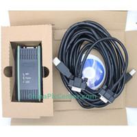Wholesale Usb Siemens - Wholesale-USB MPI PC Adapter USB for Siemens S7-200 300 400PLC,MPI DP PPI Programming 64bit