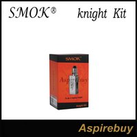 Wholesale Magnetic U Shape - Smok knight TC Kit 80W Koopor Mini2 Box Mod with 2ML Helmet Atomizer U-shape E-Juice Tube Firmware upgrade 80W TC VW Modes Magnetic Design