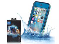 Wholesale waterproof cell phones online - For iPhone S Waterproof Phone Case Shockproof Snowproof Dirt Snow Proof Cases For Iphone Cell Phone Case AAA quality
