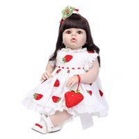 28 pouces Reine en vrac Reborn Dolls Big Toddler Doll Baby Toys de Lovely Princess Toy Doll Dress Gift à vendre