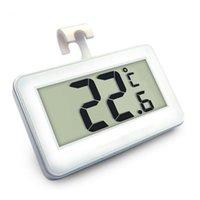 venta de refrigeradores al por mayor-Nevera Mini Termómetro de Alta Precisión con Imán Multi Función Hogar Supermercado Congelador de Alarmas de Congelación Venta Caliente 12 5hj J R