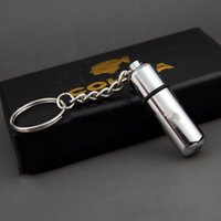 Wholesale Stainless Steel Punch - 1.3*5.5Cm Cigar Punch Cigarette Cutter Scissors Stainless Steel Cigar Cutter Suitable For All Cigars Exquisite Design Silvery Color