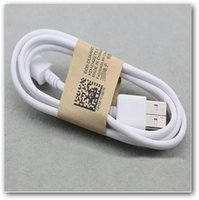 Wholesale Generic Micro Usb Data Cable - USB micro Android data line charging line millet Samsung s4 HTC generic smart phone data lines kraft paper extended V8 data line 1m